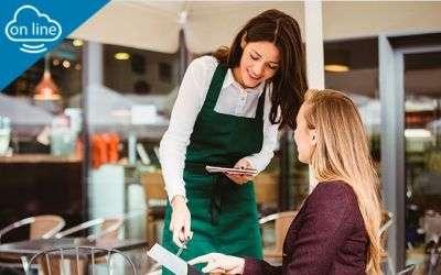Servicio y atención al cliente en restaurante - online (UF0259)