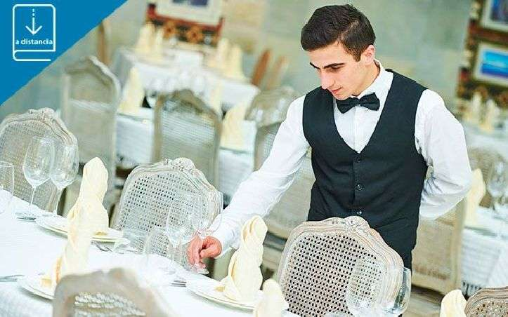 Uso de la Dotación Básica del Restaurante y Asistencia en el Preservicio