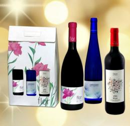 Curso jamón regalo vino