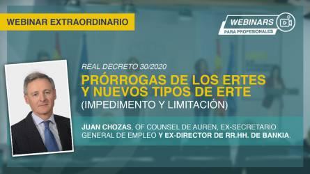 Webinar en diferido: Prórrogas de ERTES tras Real Decreto 30/2020...
