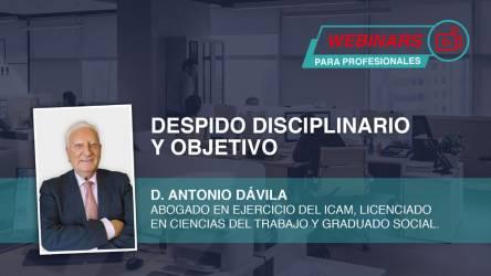 Webinar: Despido disciplinario y objetivo