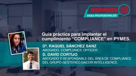 Webinar guía práctica sobre la implantación del cumplimiento compliance de las pymes