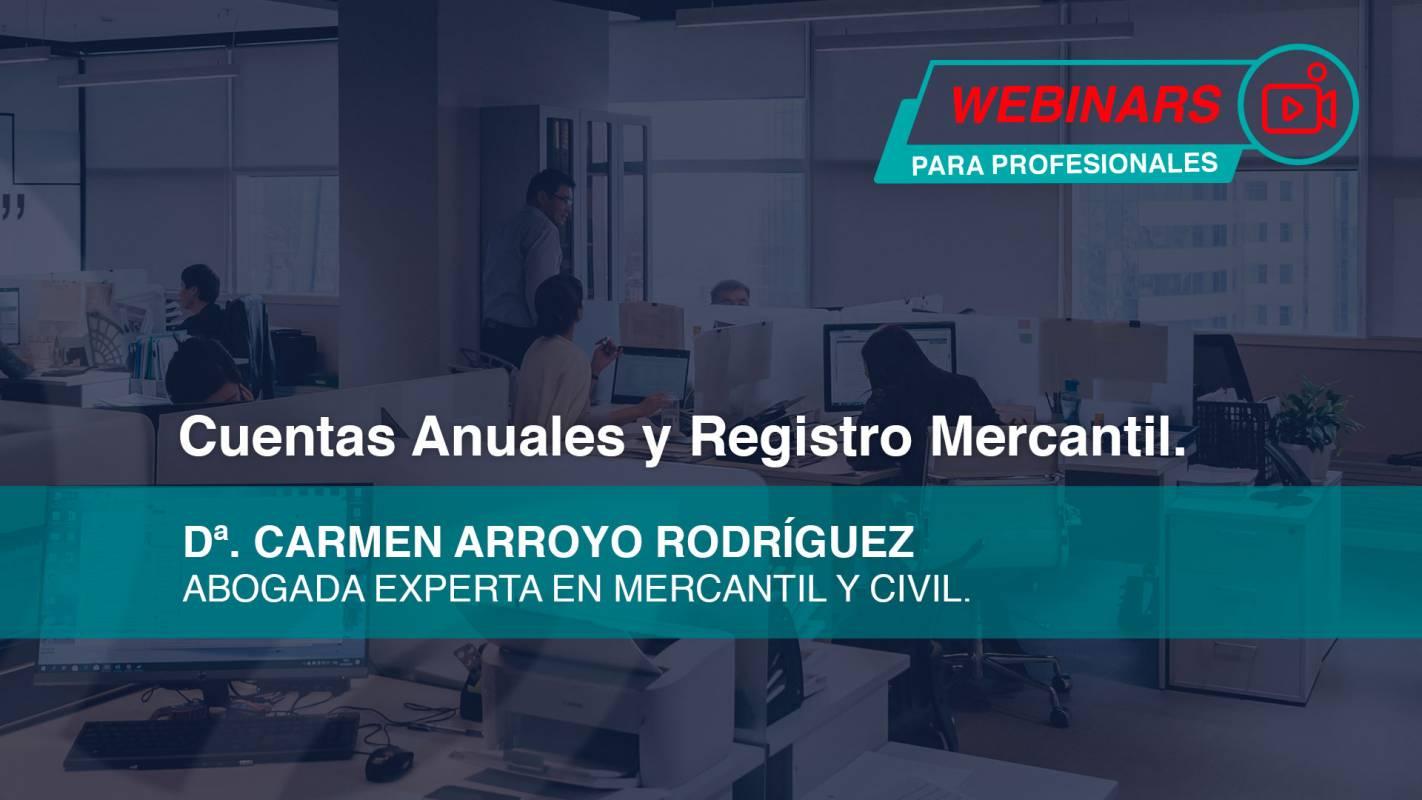 Webinar Cuentas Anuales y Registro Mercantil