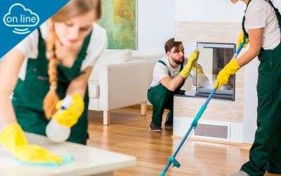 UF0039 - Limpieza y puesta a punto de pisos y zonas comunes en...