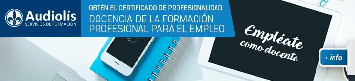 Obtén el certificado de profesionalidad de Docencia de la Formación Profesional para el Empleo