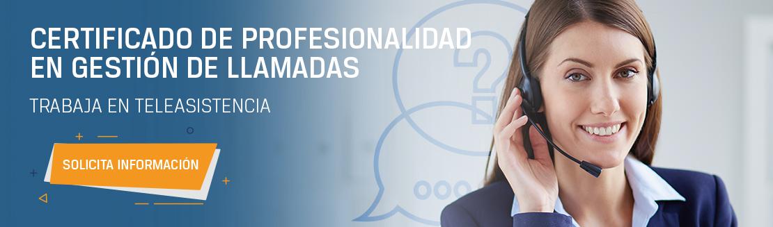 Más información sobre el certificado de profesionalidad de teleasistencia