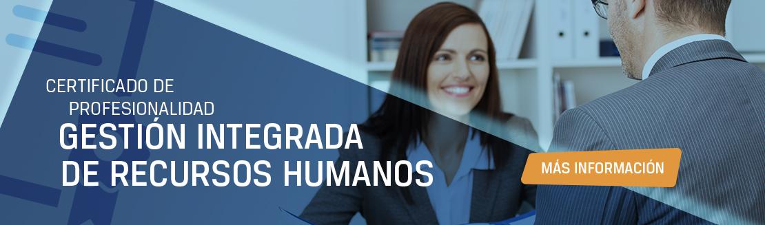 Certificado de profesionalidad gestión de recursos humanos. Más información