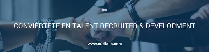Quiero ser talent recruiter