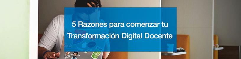 transformación digital docente