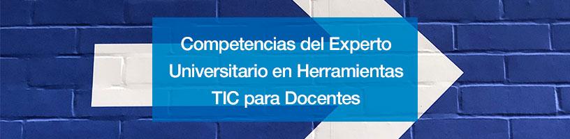 Competencias del Experto Universitario en Herramientas TIC para Docentes