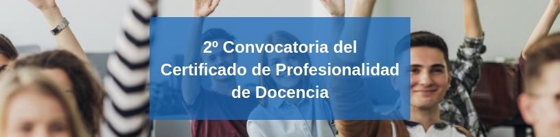 certificado profesional docencia