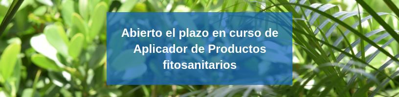 curso aplicación productos fitosanitarios