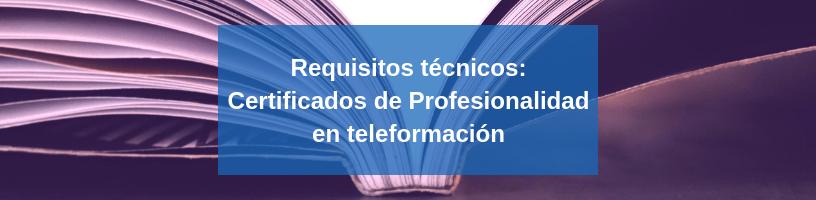 certificados de profesionalidad requisitos