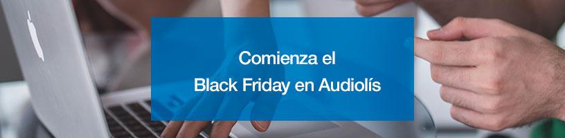 Comienza el Black Friday en Audiolís