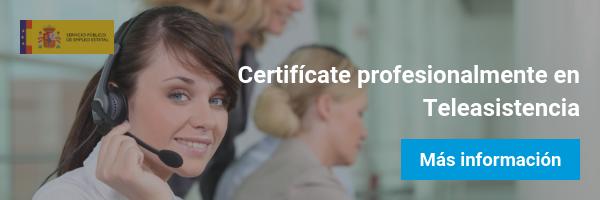certificado teleasistencia