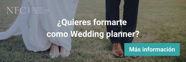 Fórmate como Wedding Planner