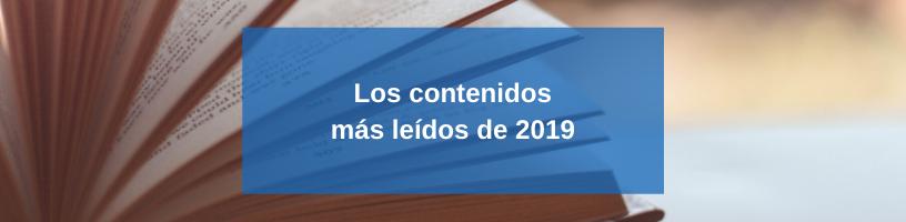 Los contenidos más leídos de 2019