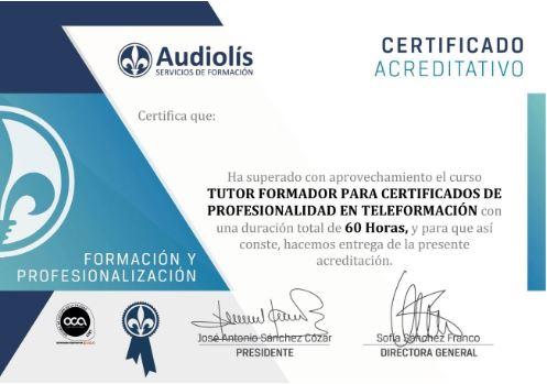 Diploma Audiolís