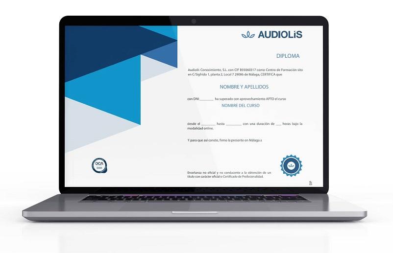Diploma formación no reglada de Audiolís