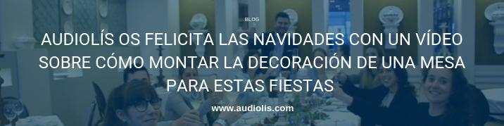 Feliz Navidad de parte de todo el equipo de Audiolís