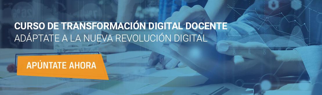 curso transformación digital docente