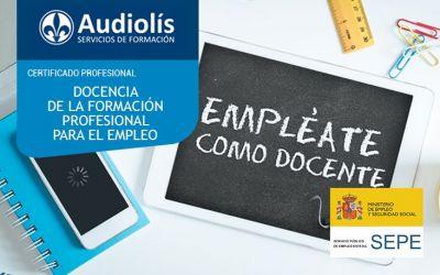 Certificado de Profesionalidad Docencia de la formación profesional para el empleo