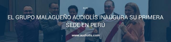 Audiolís inaugura su primera sede en Perú