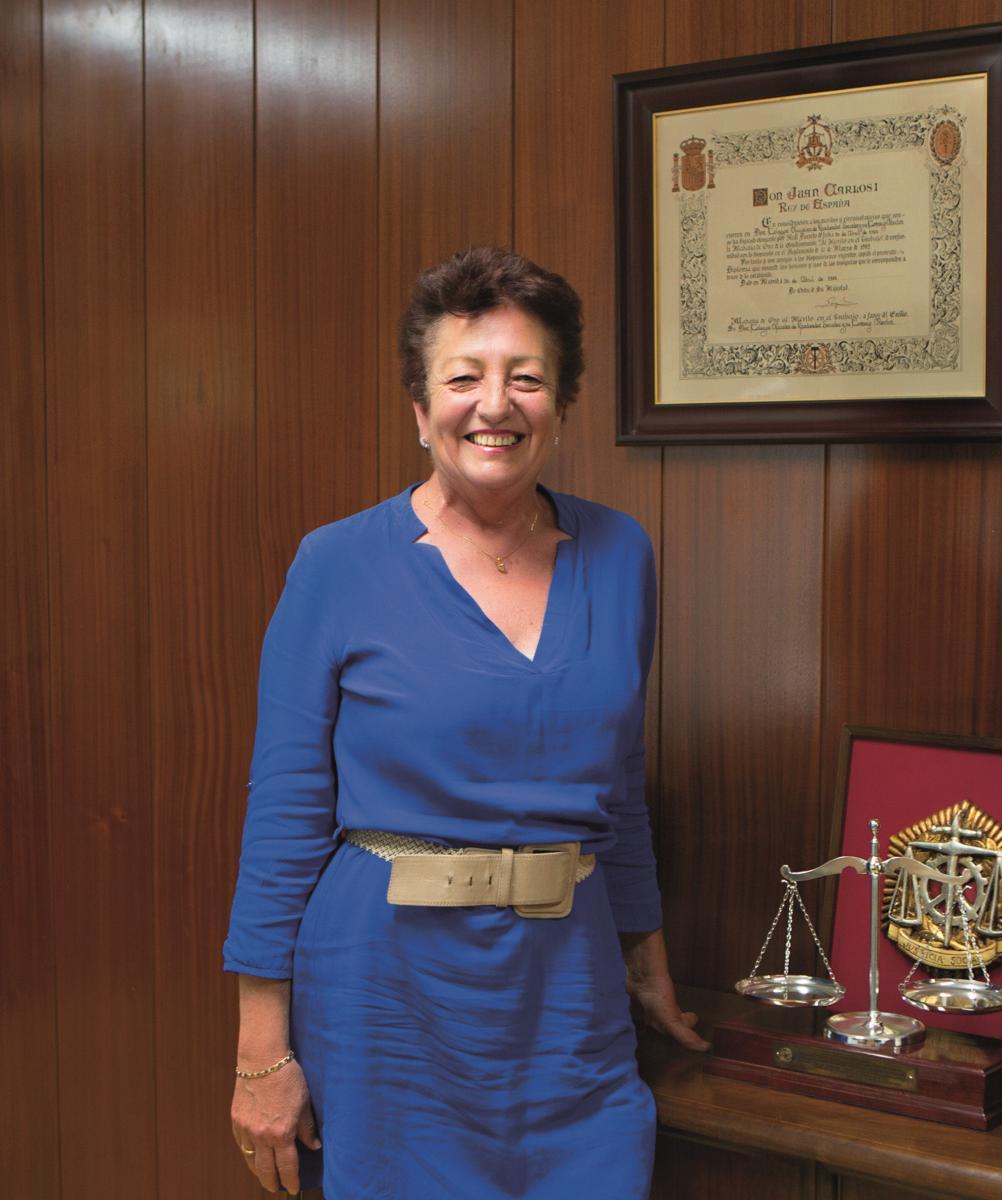 Araceli Raez presidenta del Colegio Oficial de Graduados Sociales de Córdoba