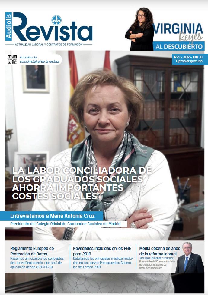 III Edición de la Revista de Audiolís: Actualidad Laboral y Contratos de Formación