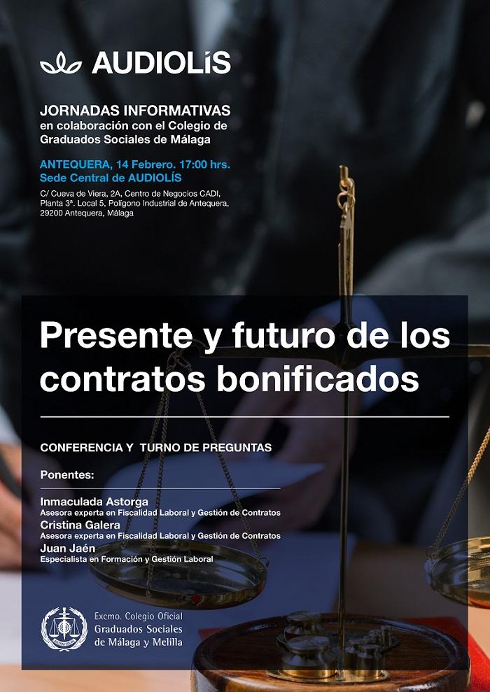 Jornadas informativas sobre los contratos bonificados