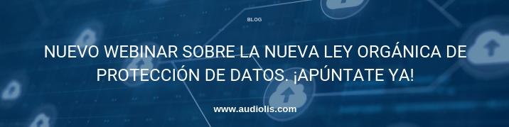 webinar protección de datos en audiolís