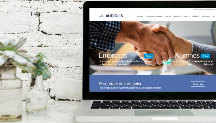 Audiolís estrena nueva imagen y nueva web