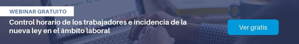 Ver webinar gratis: Control horario de trabajadores