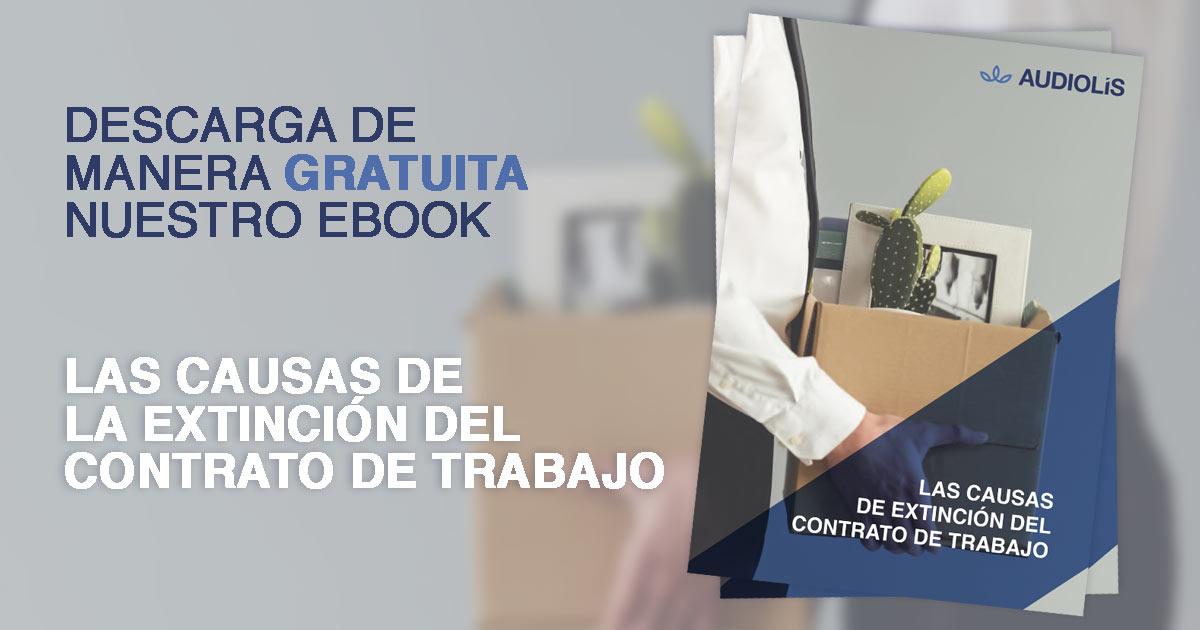 Descarga Ebook gratis sobre las causas de la extinción del contrato de trabajo