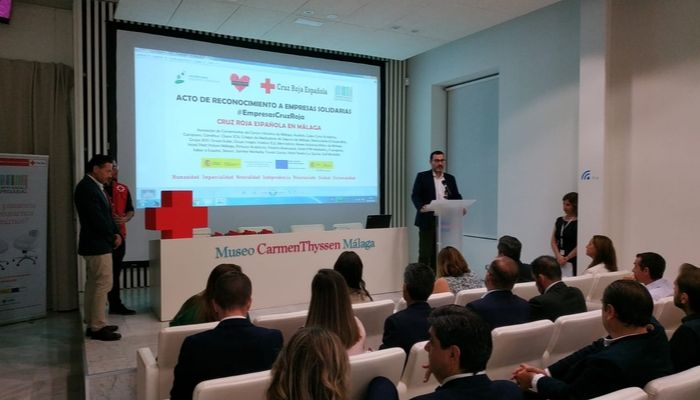 Audiolís, premiada por Cruz Roja como empresa solidaria
