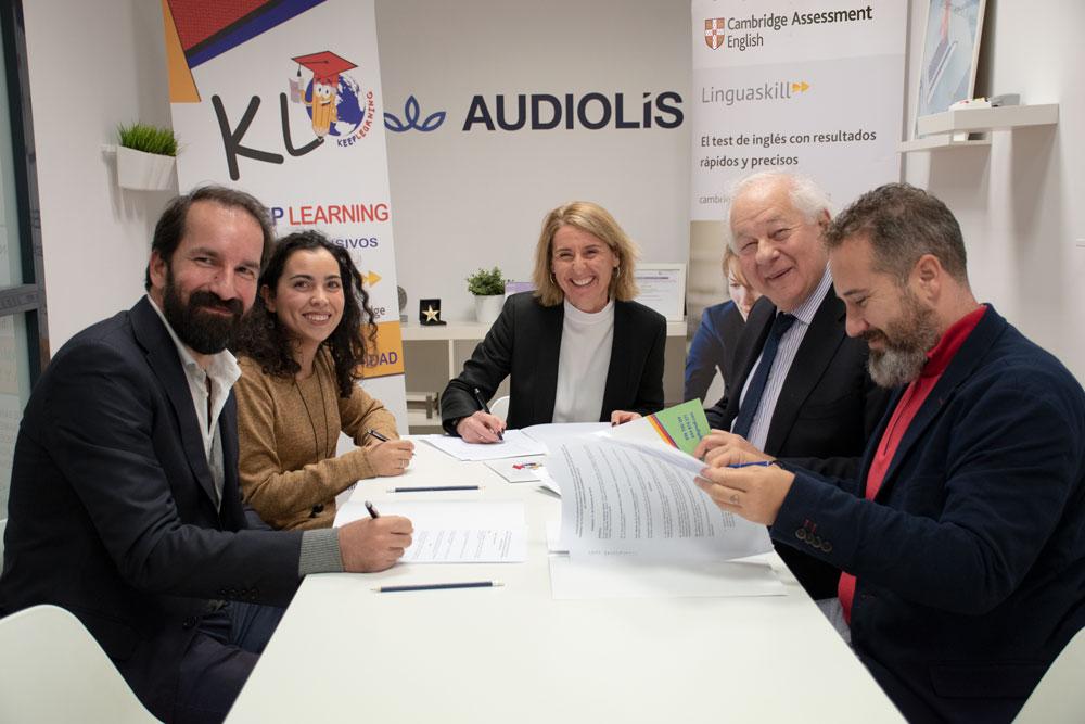 Audiolís, primera empresa reconocida por Cambridge para realizar exámenes Linguaskill en Andalucía