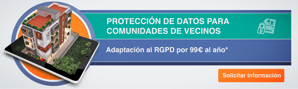 Protección de datos para comunidades de propietarios