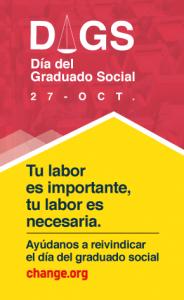 Día del Graduado Social - 27 de octubre