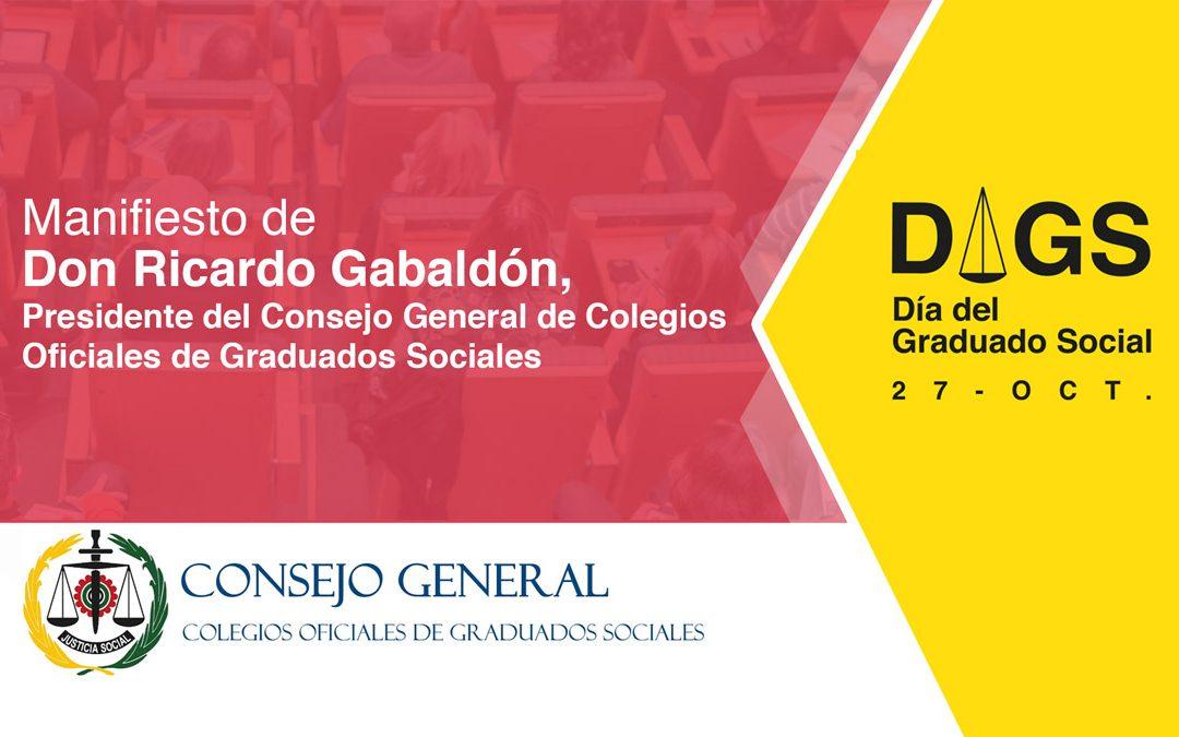 ¡Feliz Día del Graduado Social!